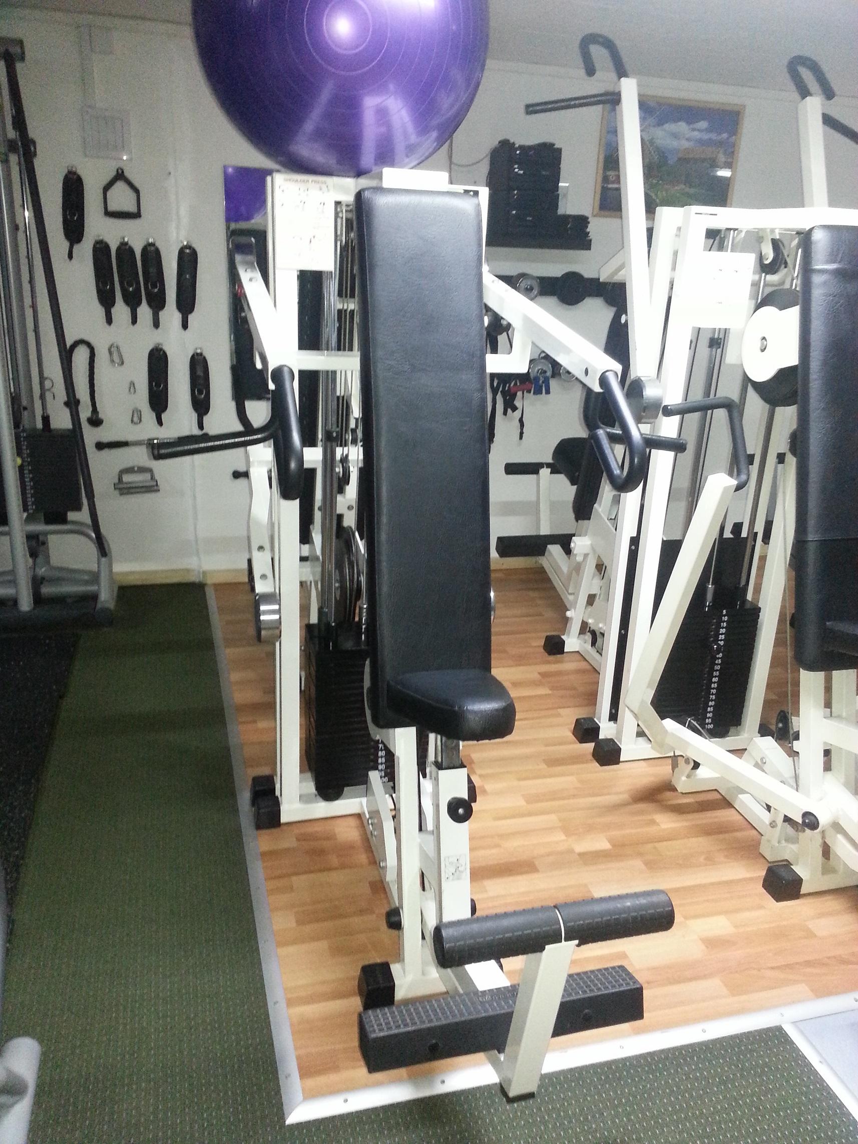 appareils fitness shoulder press technogym isotonic no 2. Black Bedroom Furniture Sets. Home Design Ideas